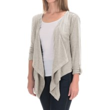 Woolrich Meadowlark Layering Cardigan Shirt - Long Sleeve (For Women) in Silver Gray Heather - Closeouts