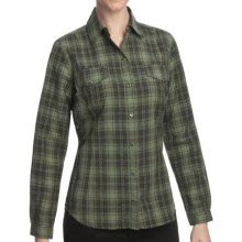 Woolrich Mercer Shirt - Cotton Dobby, Long Sleeve (For Women) in Oak Leaf - Closeouts