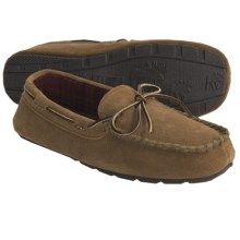 Woolrich Meridian Moc Slippers - Suede (For Men) in Hashbrown - Closeouts