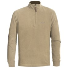 Woolrich Meridian Pullover Sweatshirt - Zip Neck (For Men) in Barley - Closeouts