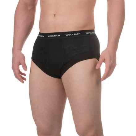 Woolrich Merino Wool Briefs (For Men) in Black - Closeouts