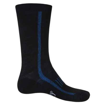 Woolrich Midweight Hiker Socks - Merino Wool, Crew (For Men and Women) in Black - Closeouts