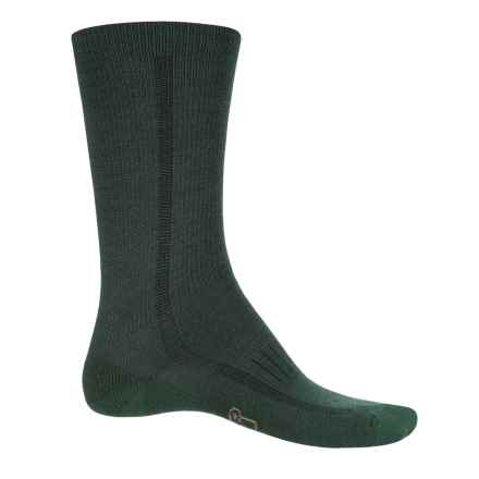 Woolrich Midweight Hiker Socks - Merino Wool, Crew (For Men and Women) in Smoked Green - Closeouts