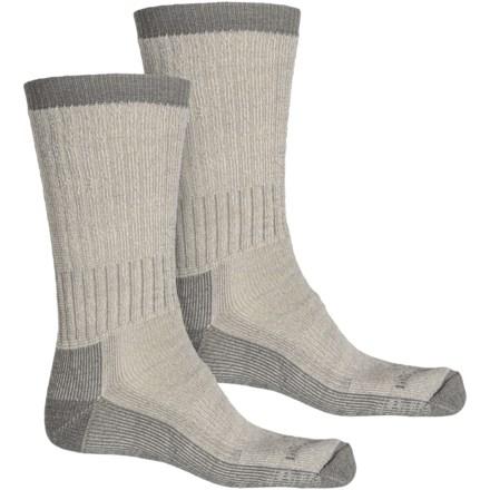 Hi-Tec Trek Heavyweight Mens Grey Black Outdoors Walking Socks Ankle 2 Pack