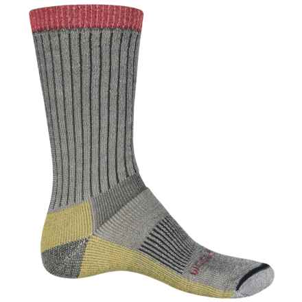 Woolrich Midweight Hiking Socks - Merino Wool, Crew (For Men and Women) in Charcoal - Closeouts