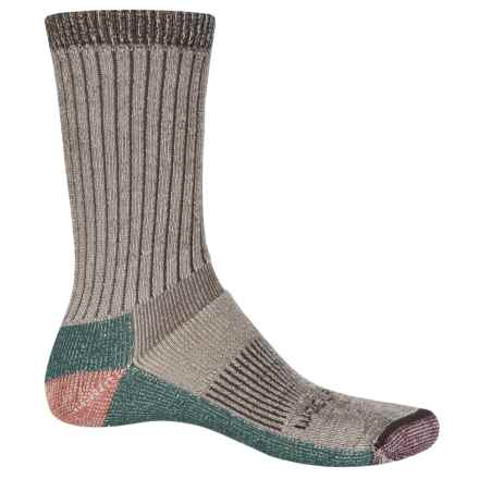 Woolrich Midweight Hiking Socks - Merino Wool, Crew (For Men and Women) in Coffee - Closeouts