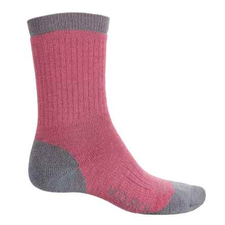 Woolrich Midweight Socks - Merino Wool, Crew (For Women) in Carmine - Closeouts