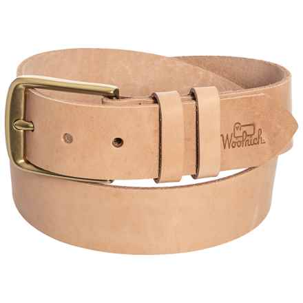Woolrich Milestone Belt (For Men) in Natural - Closeouts