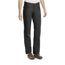 Woolrich Milestone Pants - Peached Cotton, Flannel-Lined (For Women) in Black - Closeouts