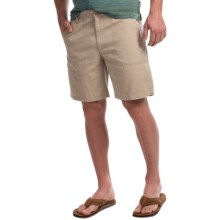 Woolrich Milestone Shorts (For Men) in Khaki - Closeouts
