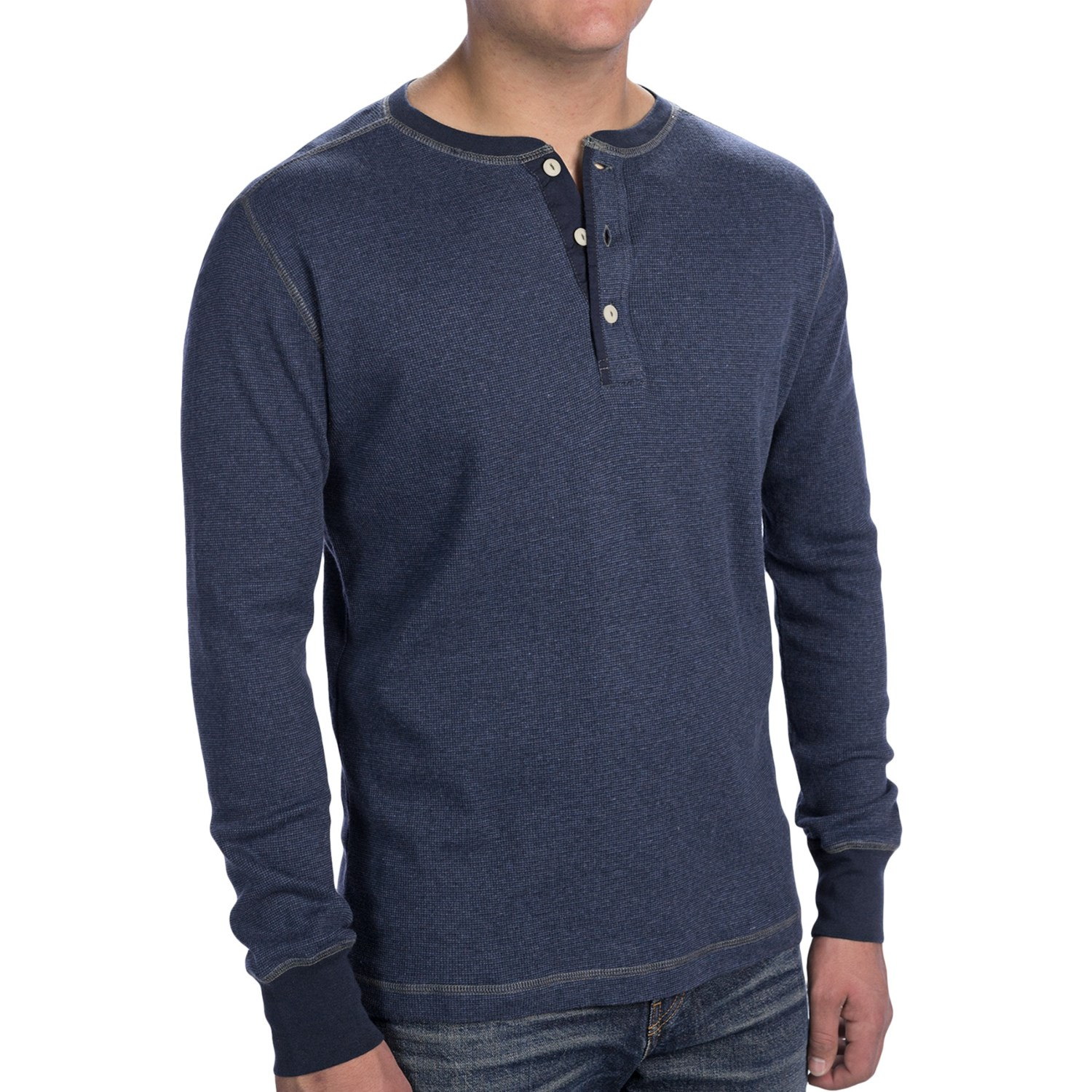 woolrich miners henley shirt long sleeve for men