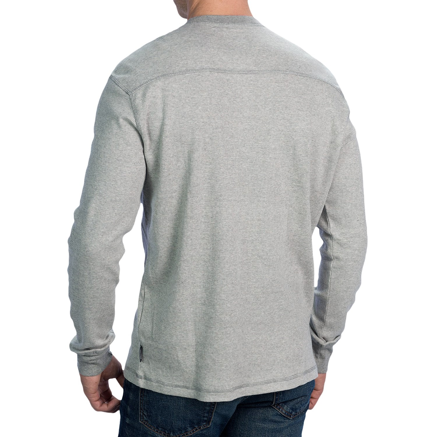 Woolrich miners henley shirt for men 7572x for Long sleeve henley shirts for men