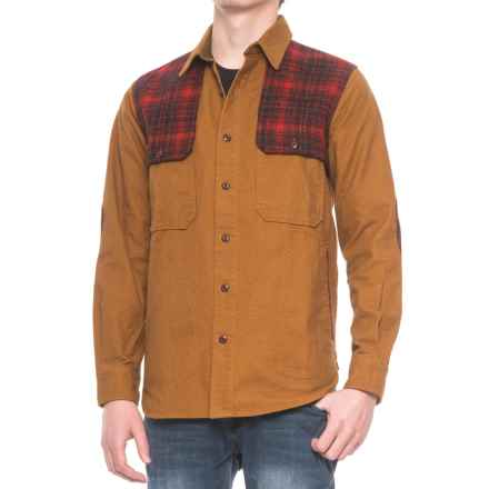 Woolrich Mix-Up Shirt Jacket - Long Sleeve (For Men) in Chicory - Closeouts