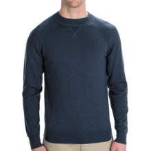 Woolrich Moccasin Run Sweater - Merino Wool, Crew Neck (For Men) in Deep Indigo - Closeouts