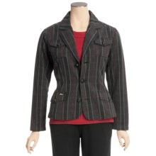 Woolrich Moss Point Jacket - Twill (For Women) in Onyx - Closeouts