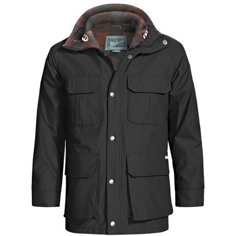 Woolrich Mountain Parka (For Men) in Black