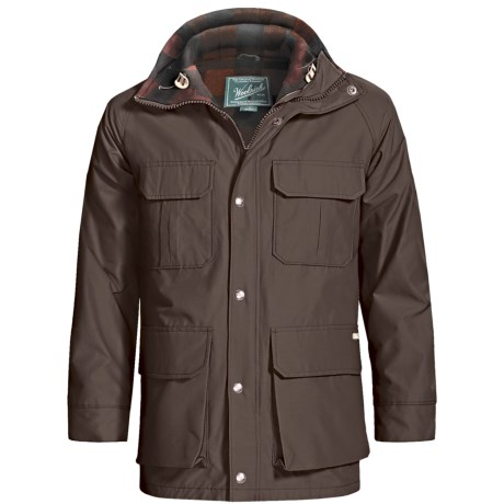 Woolrich Mountain Parka (For Men) in Dark Wood