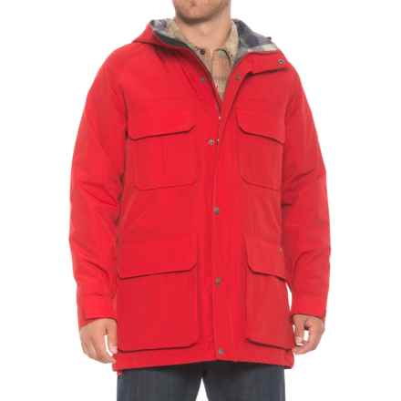 Woolrich Mountain Parka - Insulated (For Men) in Old Red - Overstock