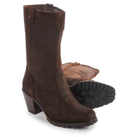 Woolrich Mustang Boots - Leather (For Women) in Java - Closeouts