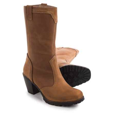 Woolrich Mustang Boots - Leather (For Women) in Straw - Closeouts