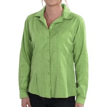 Woolrich New Little Oaks Shirt - Long Sleeve (For Women) in Herb - Closeouts