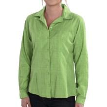 Woolrich New Little Oaks Shirt - Long Sleeve (For Women) in Herb - Closeouts