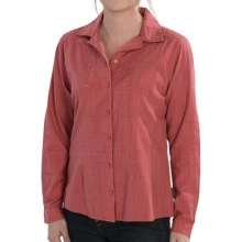 Woolrich New Little Oaks Shirt - Long Sleeve (For Women) in Soft Ruby - Closeouts