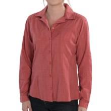 Woolrich New Little Oaks Shirt - Long Sleeve (For Women) in Soft Ruby - Closeouts