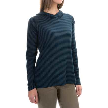 Woolrich Nittany Stripe Hoodie II (For Women) in Black - Closeouts