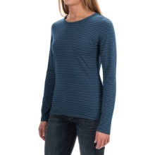 Woolrich Nittany Stripe Shirt - Long Sleeve (For Women) in Black - Closeouts