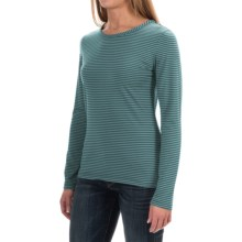 Woolrich Nittany Stripe Shirt - Long Sleeve (For Women) in Mineral Blue - Closeouts