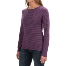 Woolrich Nittany Stripe Shirt - Long Sleeve (For Women) in Royal Purple - Closeouts