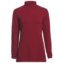 Woolrich Nittany Turtleneck - Long Sleeve (For Women) in Deep Ruby - Closeouts