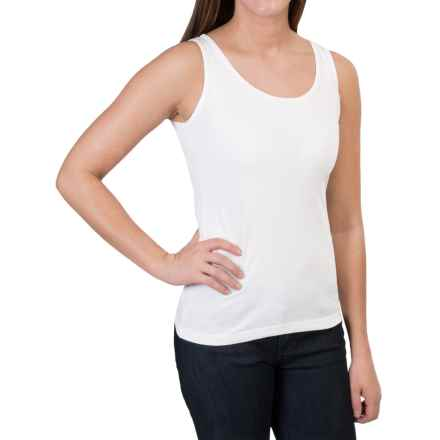 Woolrich Norrine Embroidered Tank Top (For Women) in Sea Salt - Closeouts