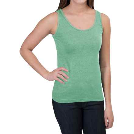 Woolrich Norrine Embroidered Tank Top (For Women) in Tile Green - Closeouts