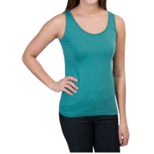 Woolrich Norrine Embroidered Tank Top (For Women) in Turquoise - Closeouts