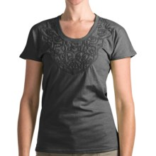 Woolrich Norrine T-Shirt - Short Sleeve (For Women) in Black - Closeouts