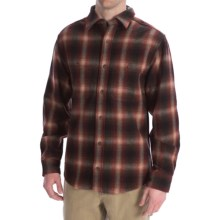 Woolrich North Creek Wool Shirt - Long Sleeve (For Men) in Red/Black - Closeouts
