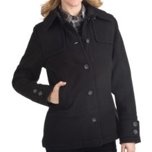 Woolrich Northhampton Wool Coat (For Women) in Black - Closeouts