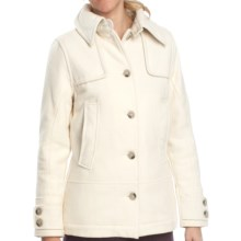 Woolrich Northhampton Wool Coat (For Women) in Winter White - Closeouts