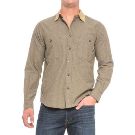 Woolrich Northridge Chambray Shirt - Long Sleeve (For Men) in Olive - Closeouts