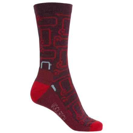 Woolrich Novelty Classic Sheep Socks - Merino Wool, Crew (For Women) in Fig - Closeouts