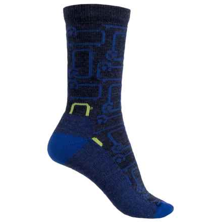 Woolrich Novelty Classic Sheep Socks - Merino Wool, Crew (For Women) in Navy - Closeouts
