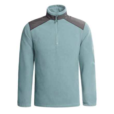 Woolrich Oakway Polartec® Fleece Jacket - Zip Neck (For Men) in Overcast - Closeouts