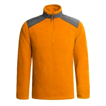 Woolrich Oakway Pullover - Polartec® Thermal Pro® Fleece (For Men) in Flame