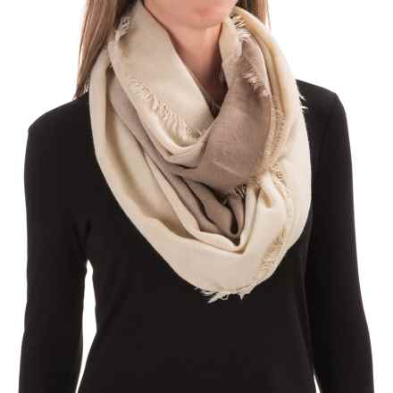 Woolrich Ombre Eternity Scarf (For Women) in Stone - Closeouts