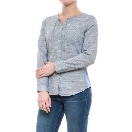 Woolrich Outside Air Shirt - Long Sleeve (For Women) in New Royal Blue - Closeouts