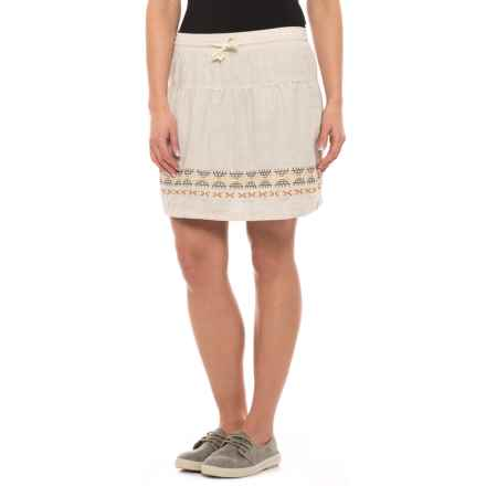 Woolrich Outside Air Skort - Built-In Shorts (For Women) in Silver Gray - Closeouts