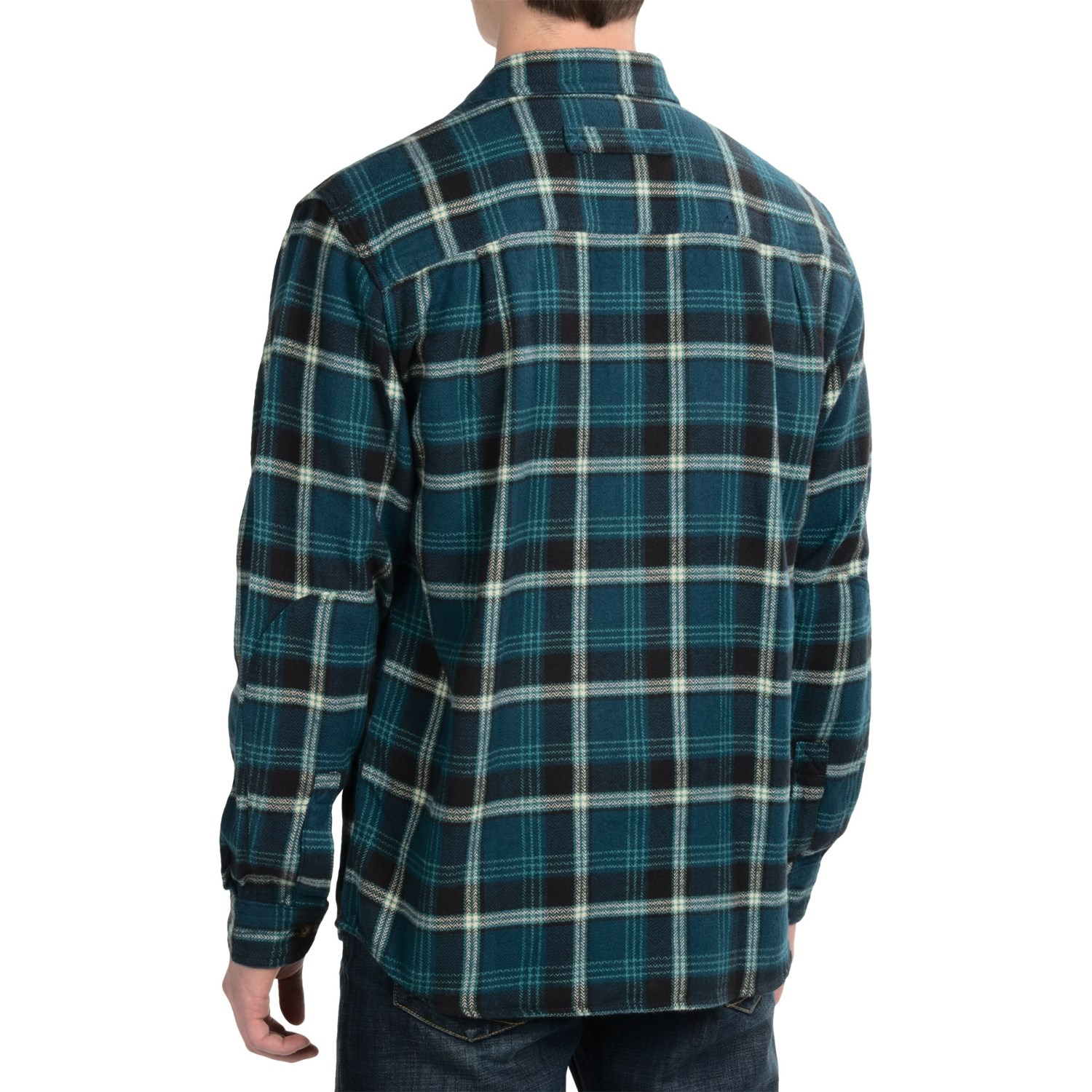 woolrich oxbow bend flannel shirt for men 3525m. Black Bedroom Furniture Sets. Home Design Ideas