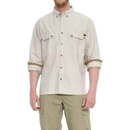 Woolrich Oxford Shirt - Long Sleeve (For Men) in British Tan - Closeouts